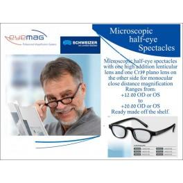 Microscopic Half-eye Spectacles