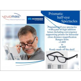 Prismatic Half Eye Spectacles
